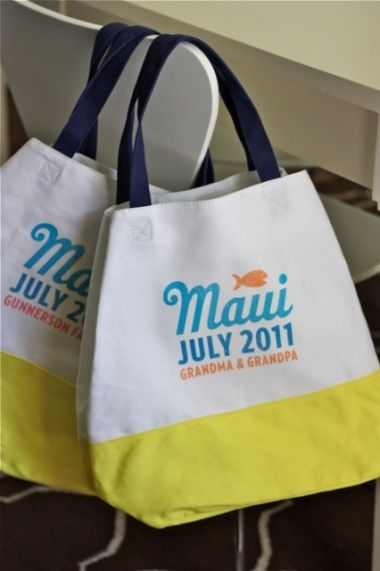 Personalized Beach Bag Craft Camp