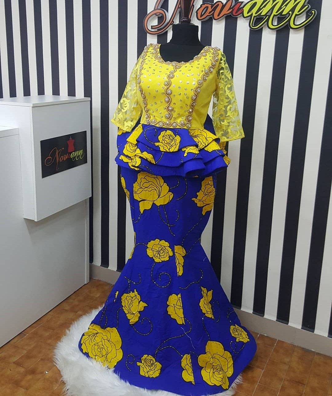 d9df085ec2d9eb Hot Ankara Skirt & Blouse Styles For Your Next Owamba | vic in 2019 ...