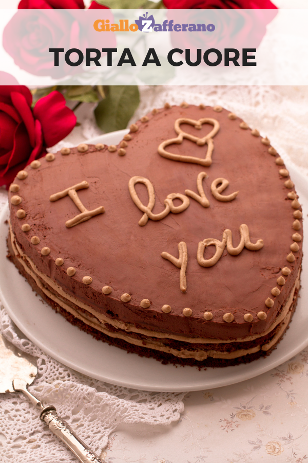 Ricetta Torta Al Cioccolato A Forma Di Cuore.Torta A Cuore Ricetta Torta A Cuore Torte Dolci Al Cioccolato