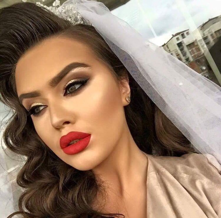 Pinterest  Princesh  nuse in 2019  Bridal Makeup