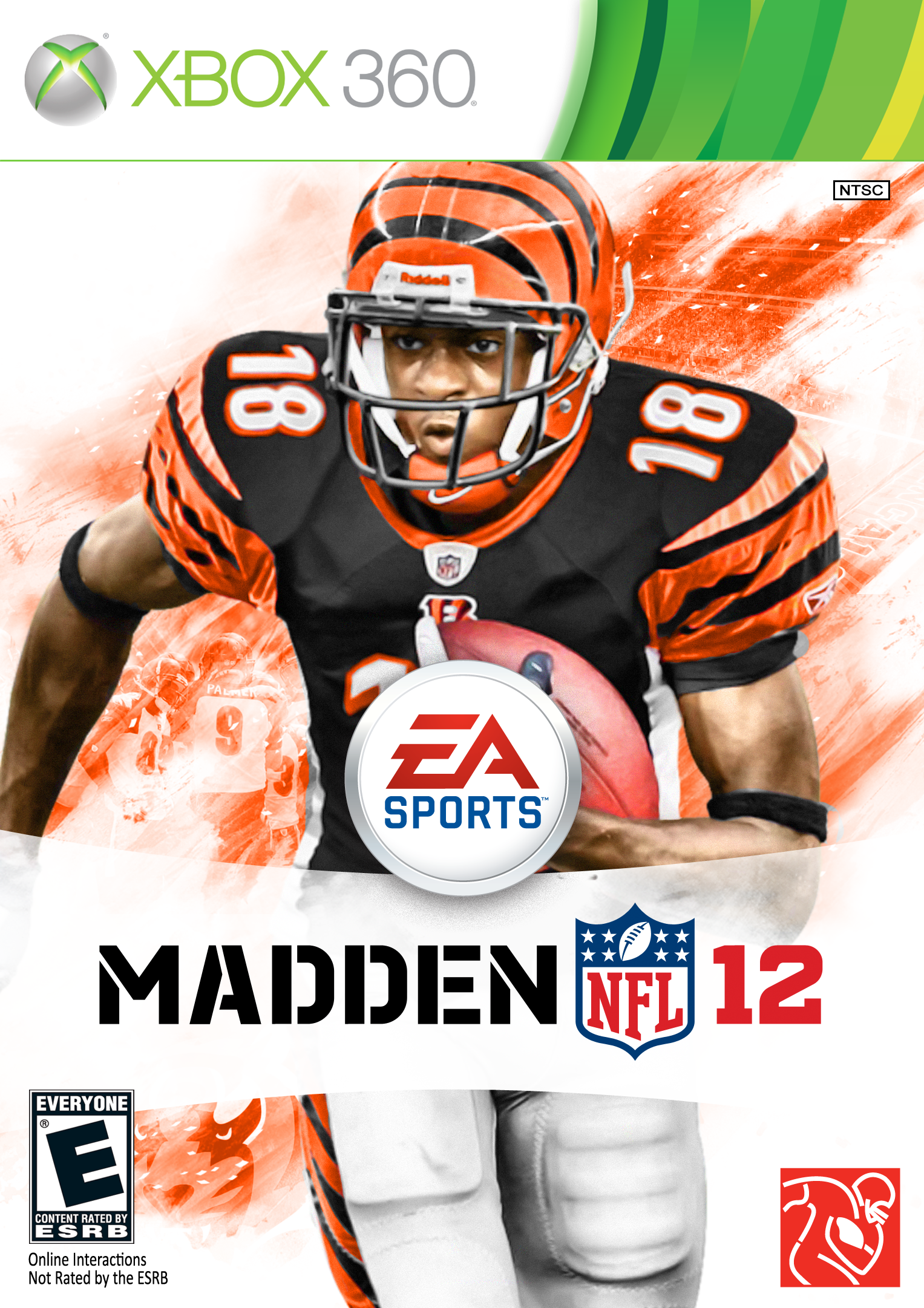 5220a72d69b Aj Green on Madden Cover | Madden Cover | Football video games, Nfl ...