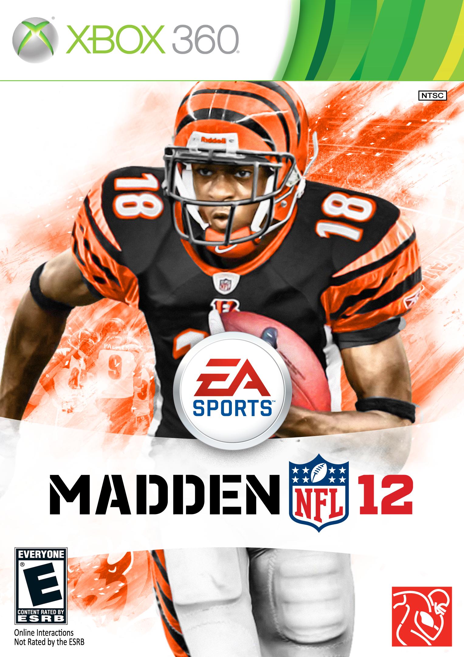 72 Custom Madden 2012 Covers, For Every NFL Team Nfl