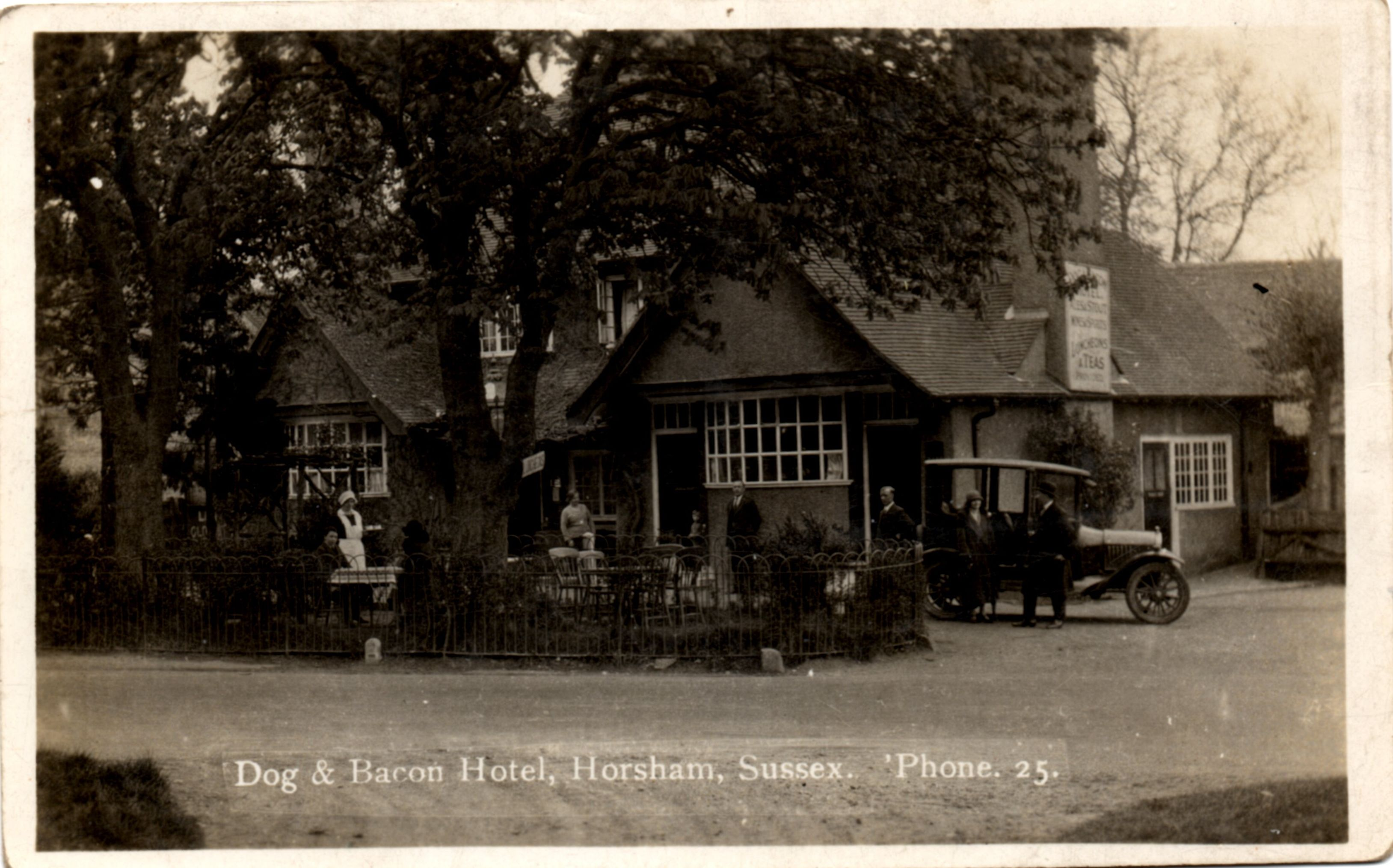 Dog And Bacon North Parade Horsham Horsham House Styles House