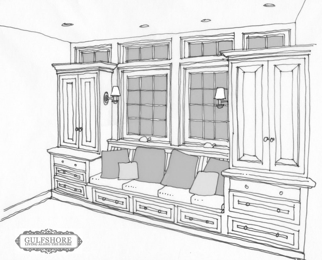 Built In Breakfast Nook Bench Plans No Windows Though Get