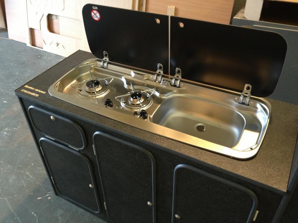 Flat pack universal camper kitchen units vw t4 forum for Campervan kitchen ideas