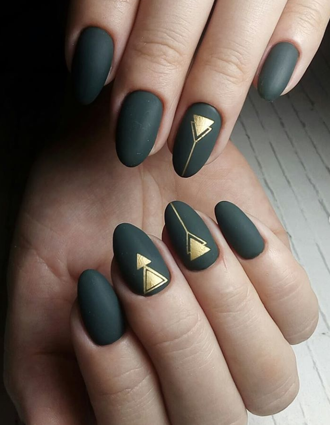 56 Hottest Natural Matte Short Nails Design Ideas Spring Summer Page 45 Of 56 Latest Fashion Trends For Woman Matte Nails Design Green Nails Short Nail Designs
