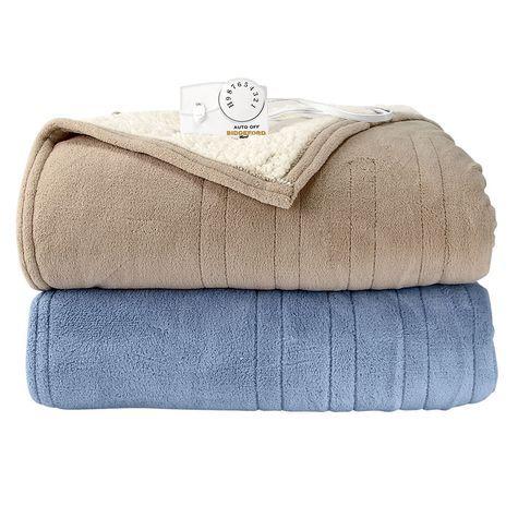Biddeford Microplush Sherpa Electric Blanket Blanket