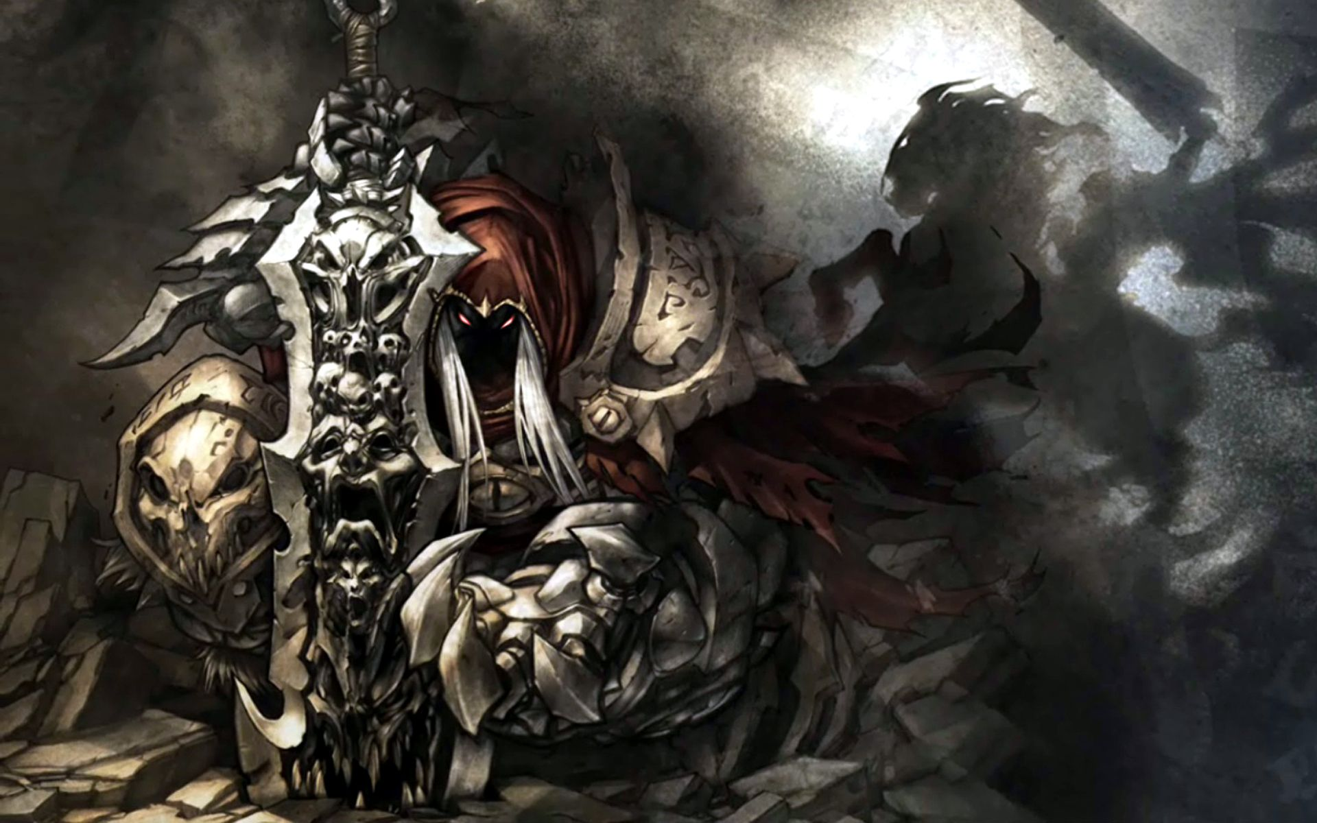 darksiders ii death lives hd desktop wallpaper widescreen high