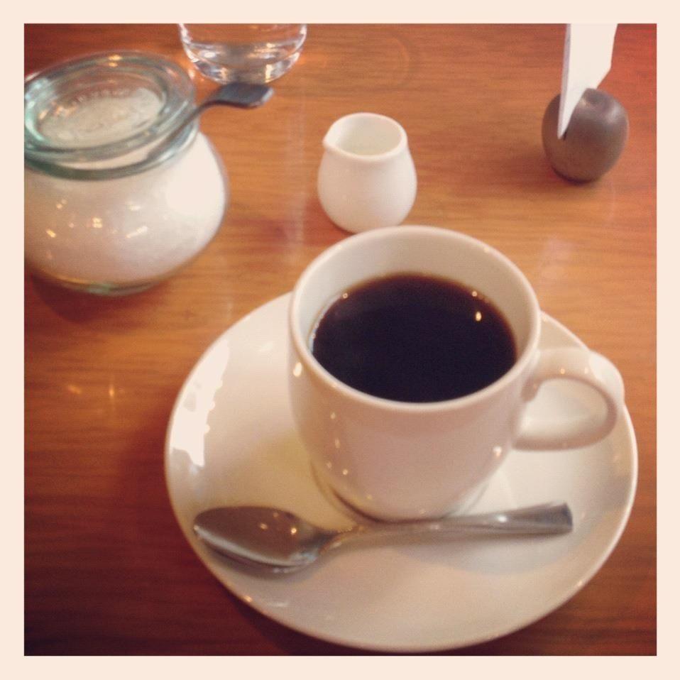 [ランチ❷*2012/04/13]    食後のひーこー☕      @CAFE tsubame