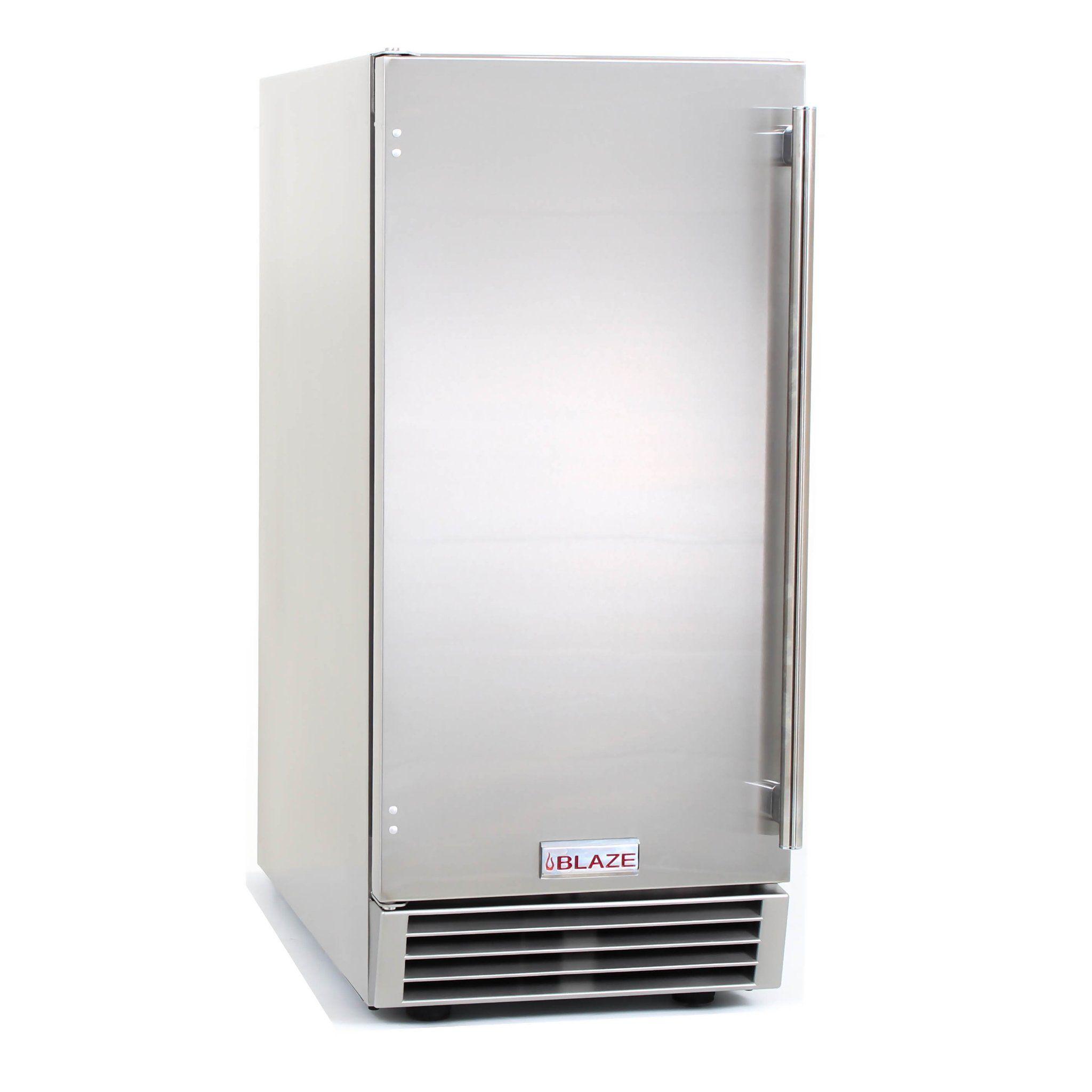 15 Blaze 50 Lb Outdoor Ice Maker Outdoor Kitchen Appliances Outdoor Kitchen Bars Ice Maker