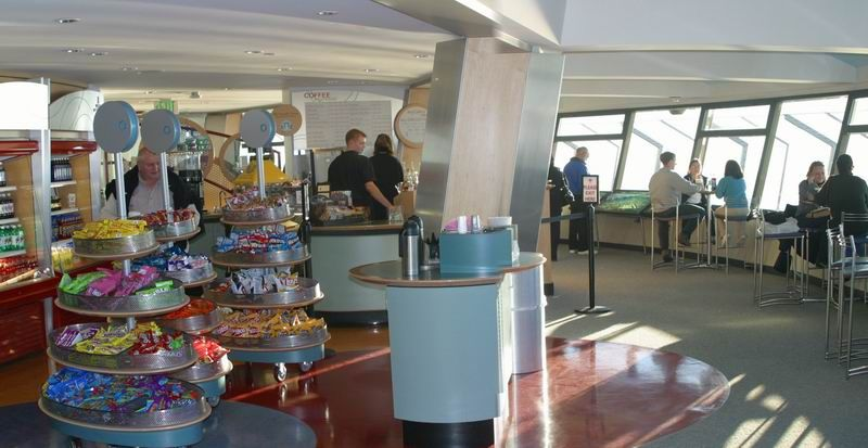 Inside Space Needle Space Needle Sweet Home Great Recipes