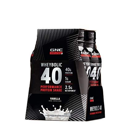 gnc amp wheybolic 40 is a readytodrink protein shake