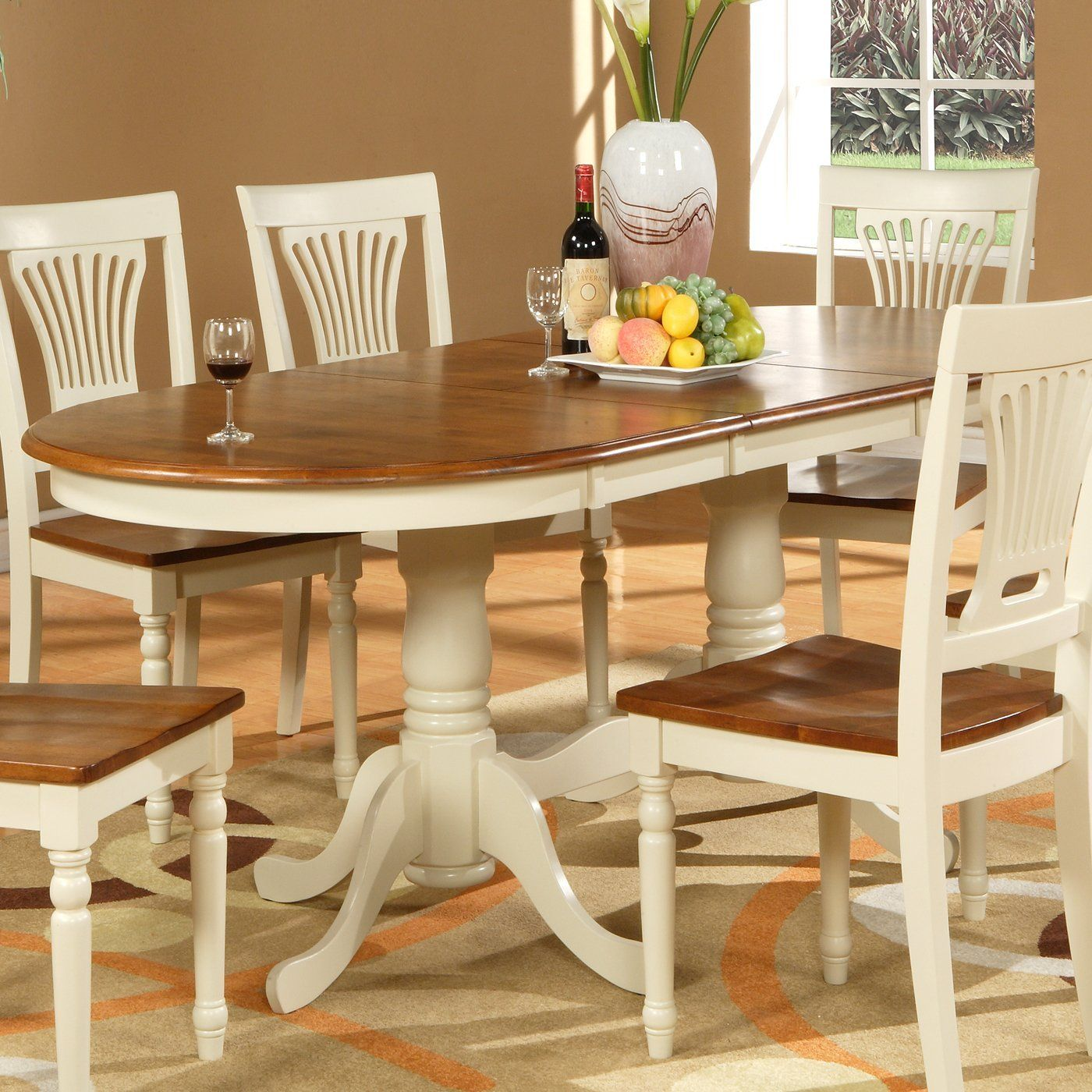 Wooden Imports Plv09 Plainville Dining Table