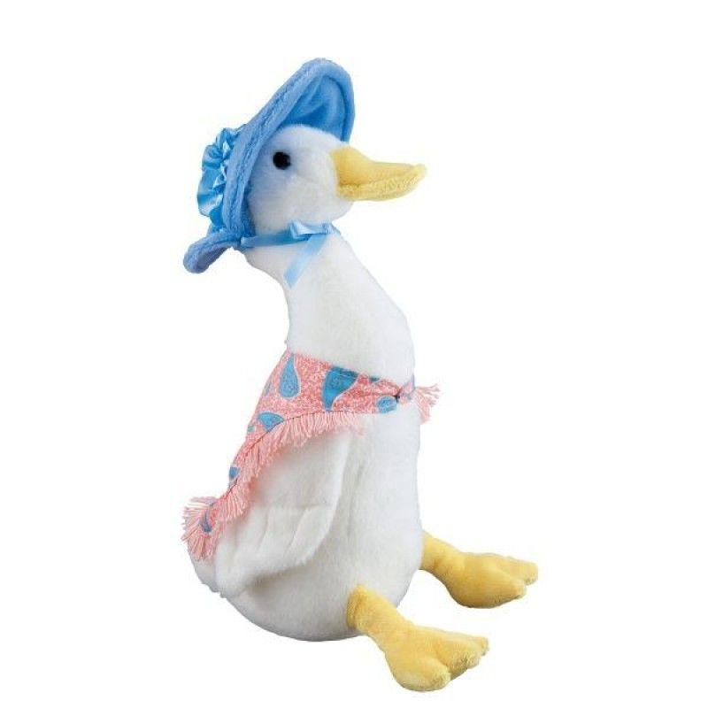 Jemima Puddleduck (30cm) - Beatrix Potter plush. #Peterrabbit #beatrixpotter #jemimapuddleduck #babyshowergifts #misterpanda #newborn