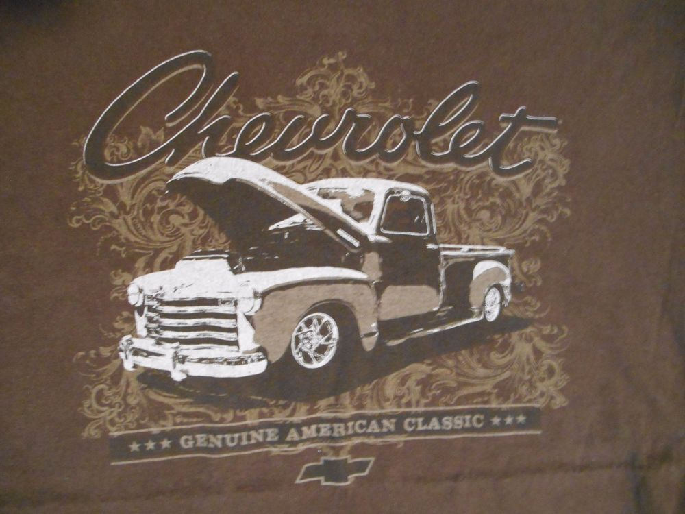 Details about GM Official Chevrolet Genuine American Classic Truck ...