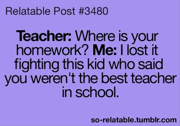 First Time Mom and Dad: The worst teacher of my youth is now one ...