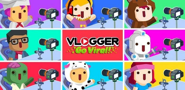 Vlogger Go Viral MOD APK Game with download in Unlimited Money and Diamonds.
