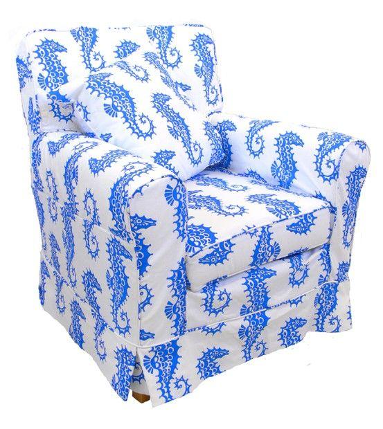 English Seaside Seahorse Chair