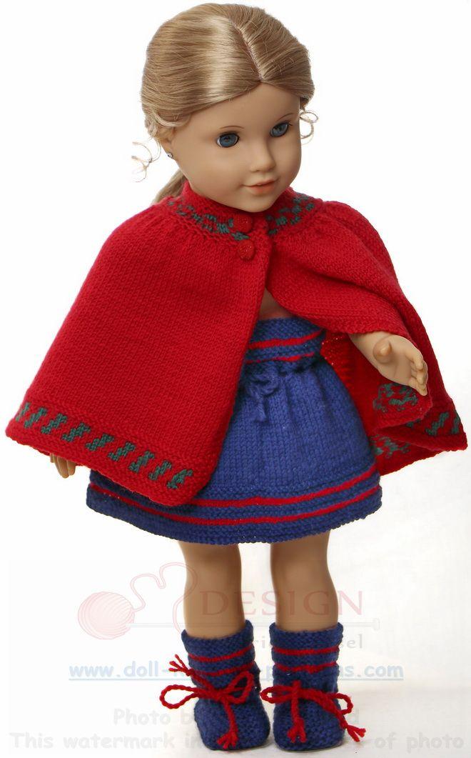 Puppenkleider stricken anleitung gratis | Basteln mit Kinder ...