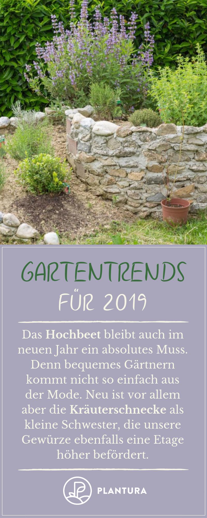 Gartentrends 2019: Unsere Top 10 für Ihren Garten #diygartenprojekte