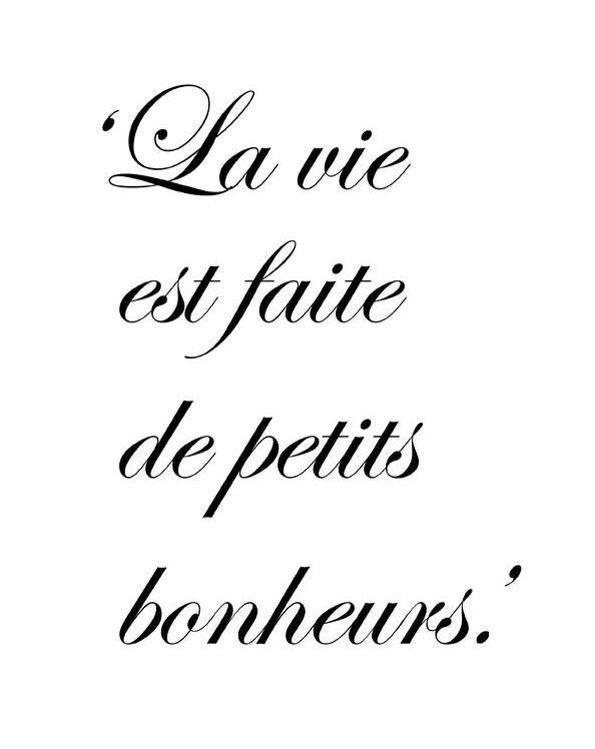 La Vida Está Llena De Pequeñas Alegrías Citras Francesas