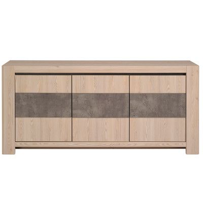 Parisot Chris Sideboard Finish Larch Buffet Conforama