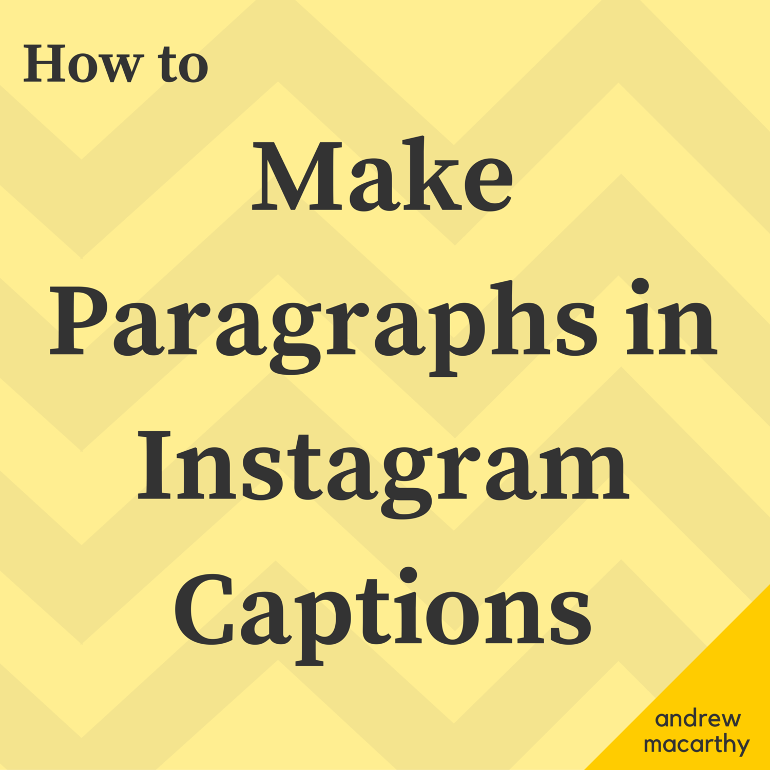 How To Add Paragraphs To Instagram Captions In 3 Easy