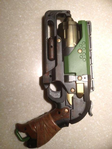 Nerf Gun Mod: Nerf Zombie Strike Hammershot