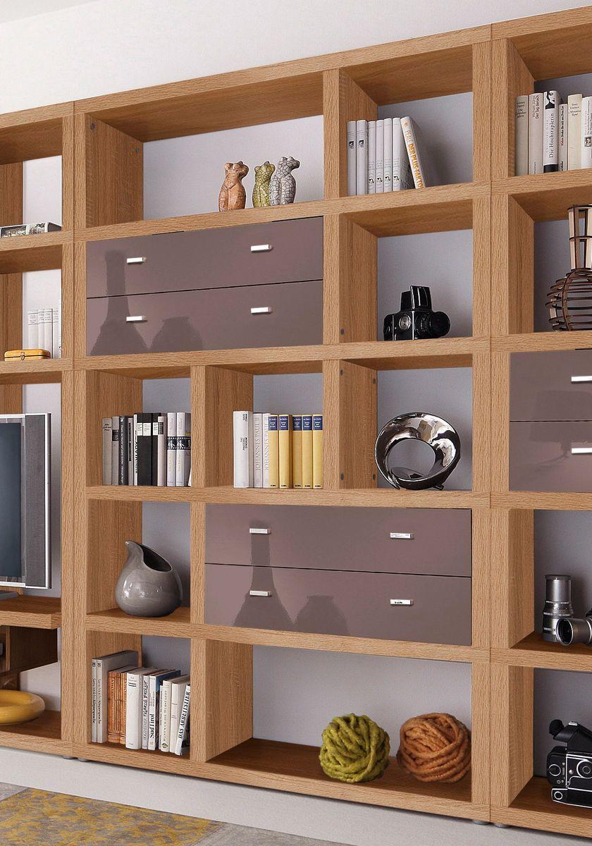 regal space hmw m bel breite 123 cm spaces. Black Bedroom Furniture Sets. Home Design Ideas