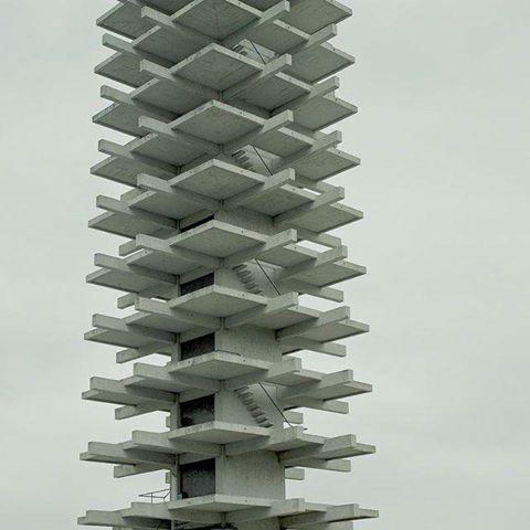 Komazawa Olympic Tower, Tokyo Photo: Shuji Hiramatsu