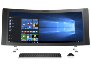 Hp Envy Curved 34 A010 All In One Desktop Pc 6th Gen Core I5 12gb Desktop Computers All In One Computer Deals