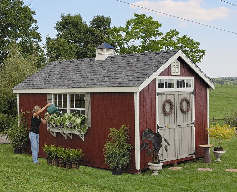 Garden Sheds Ideas potting shed homeiswheretheboatisnet garden Amish Garden Sheds Home Amish Colonial Williamsburg Garden Shed Kit Choose Size