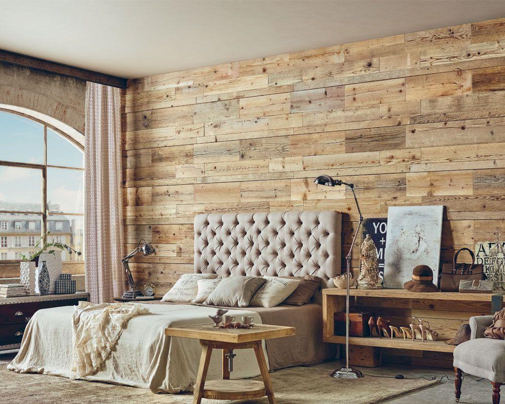 Wandpaneel 3d Balken Aus Recyceltem Altholz Von Dialma Brown Wohnzimmer Braun Braunes Schlafzimmer Haus Deko
