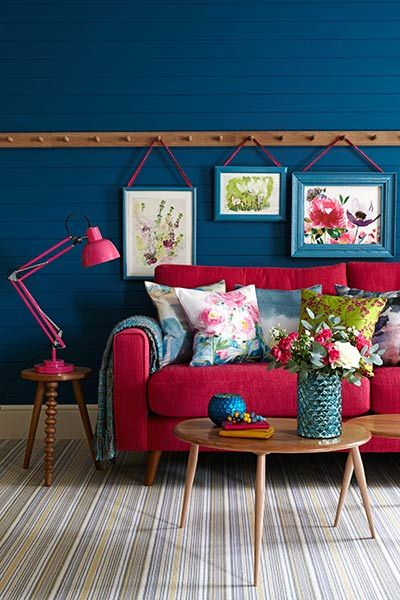 Goodhomes Magazine Red Couch Living Room Decor Home