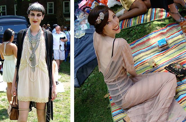 Gatsby Street Style: New Yorkers Celebrate the 1920s - ELLE.com