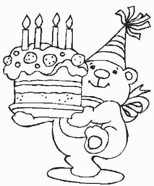 Geburtstag ausmalbilder - Ausmalbilder für kinder
