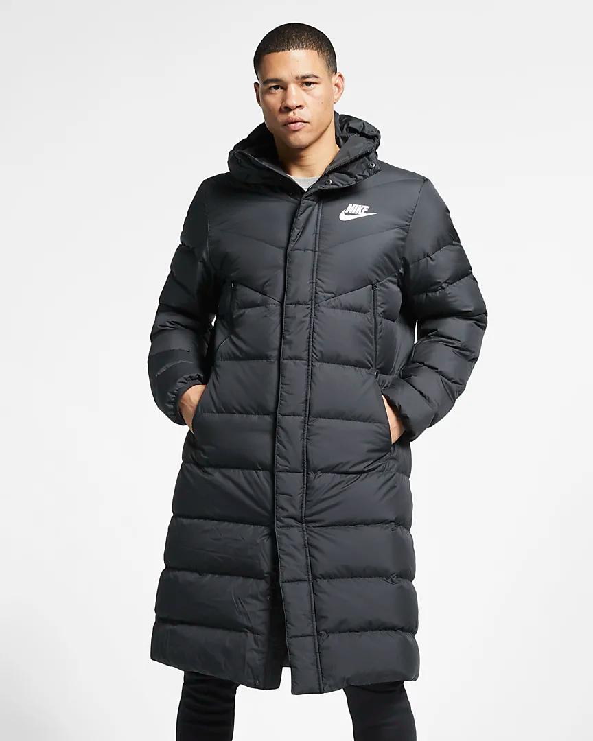 Nike Sportswear Windrunner Down Fill Men S Hooded Puffer Parka Nike Com Mens Parka Jacket Athletic Mens Fashion Nike Parka [ 1080 x 864 Pixel ]