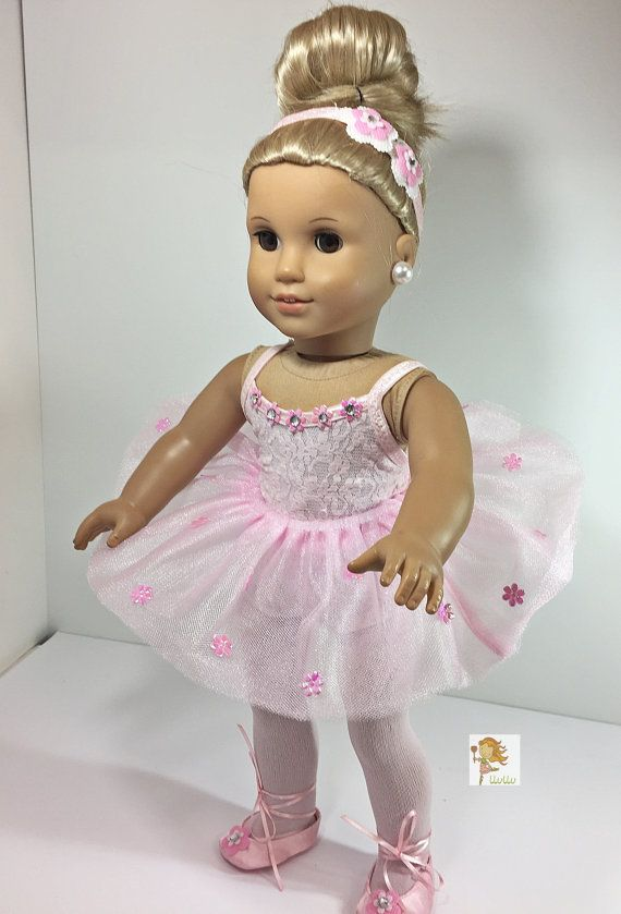 a075c0591 American Girl Doll Ballerina Outfit - 18 inch Doll Complete ...