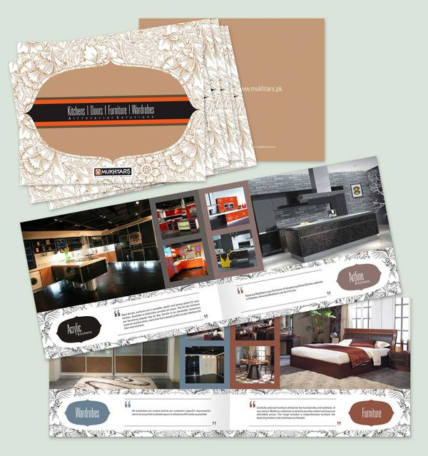 mukhtars_interior_Product-Brochure-design Design  Brochures - brochure design idea example