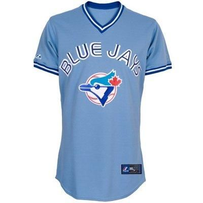 b519ab659 Majestic Toronto Blue Jays Light Blue Baseball Jersey