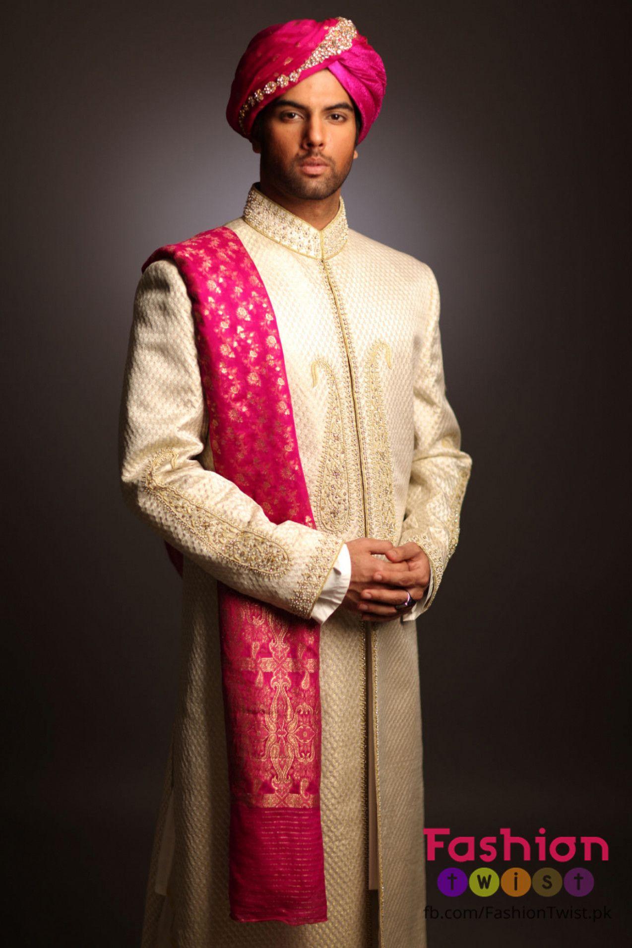 Indian Wedding Groom Men Wear (With images) Indian groom