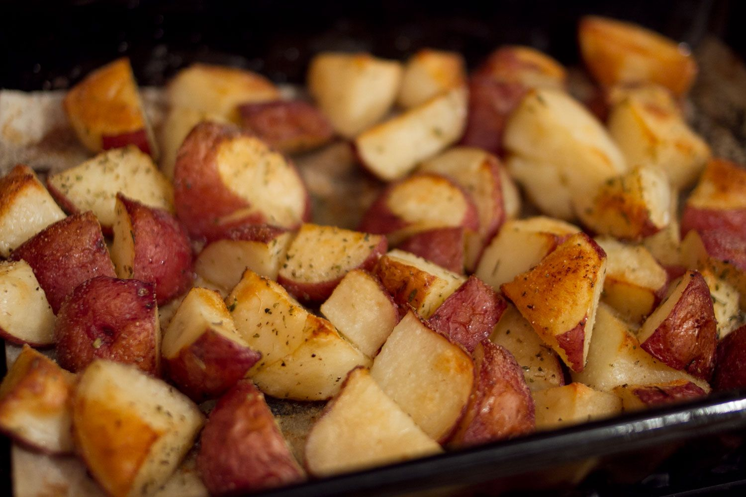 how to cook red potatoes in the oven with foil