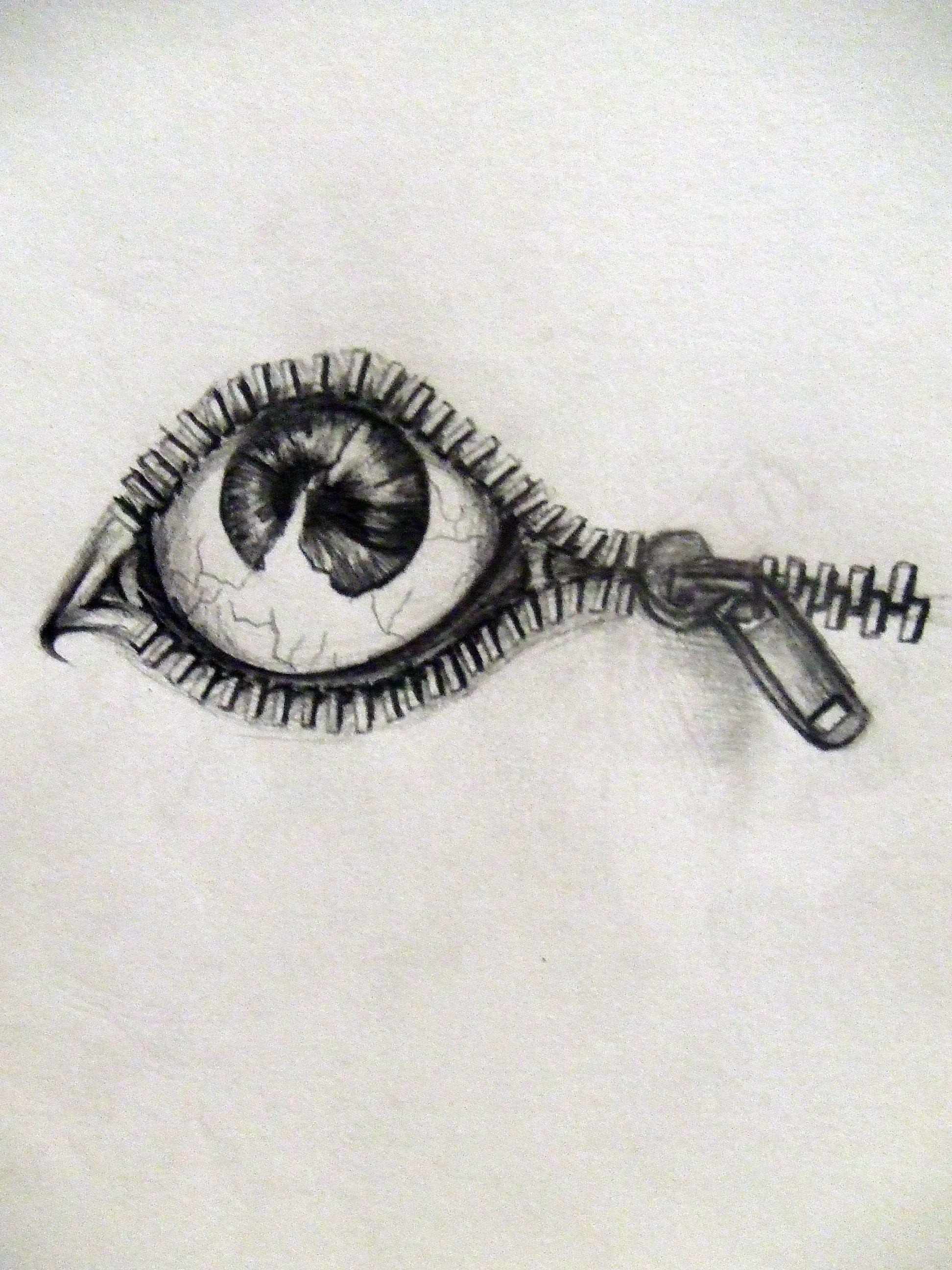 Eye Tattoo Pat by ZeplinQueen Eye tattoo design, art