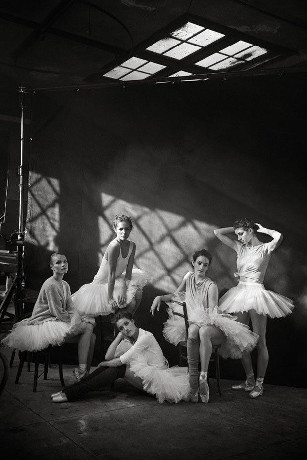 PHOTOGRAPHER MagazineNYC Ballet Dancers - Peter Lindbergh - PHOTOGRAPHER Magazine