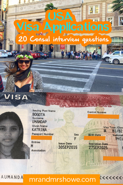 USA Visa Applications - 20 Consul interview questions you