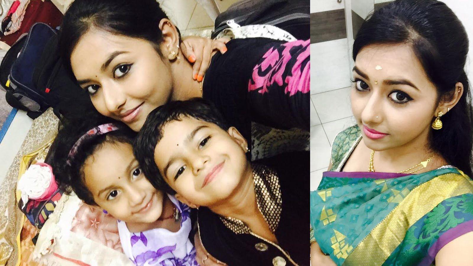 Kalyanam Mudhal Kadhal Varai Vaishali Vaishu Serial Actress Vanitha With