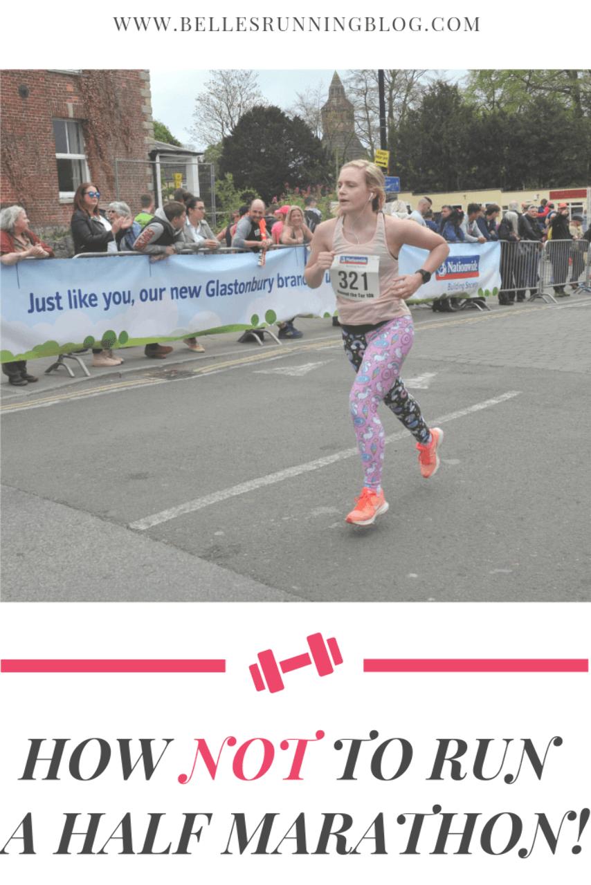 How not to run a half marathon | Half Marathon Training | Diary of an injured runner | Week 2 of my...