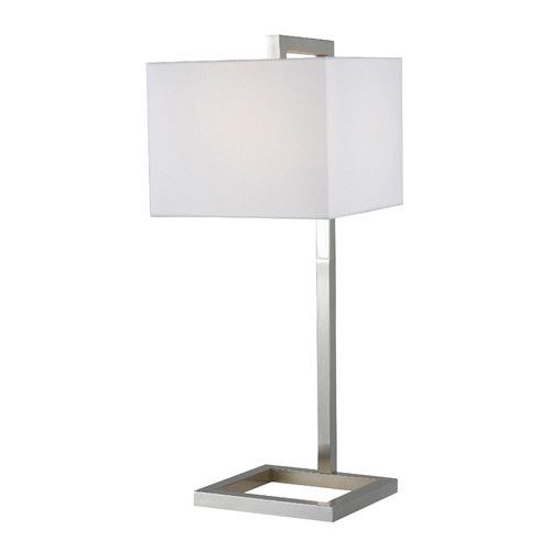 Found It At Wayfair 4 Square 30 H Table Lamp With Square Shade Square Table Lamp Tall Table Lamps Table Lamp