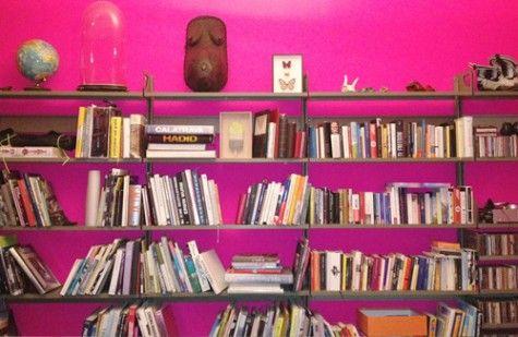 bright colour + books