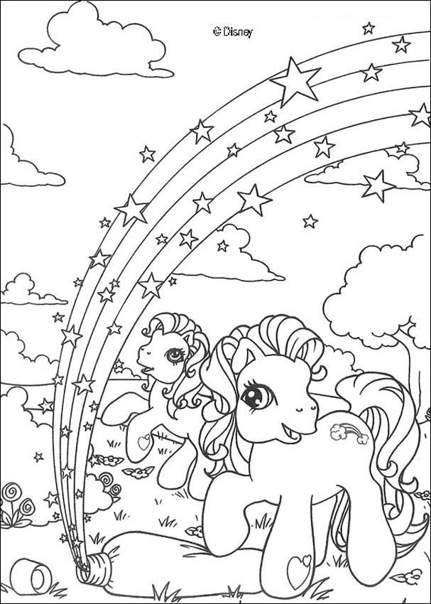Rainbow Coloring Pages | My little pony coloring, Cute coloring ...